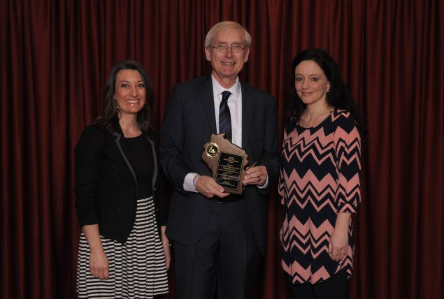 OW teachers receive School of Recognition award from State Superintendent Tony Evers